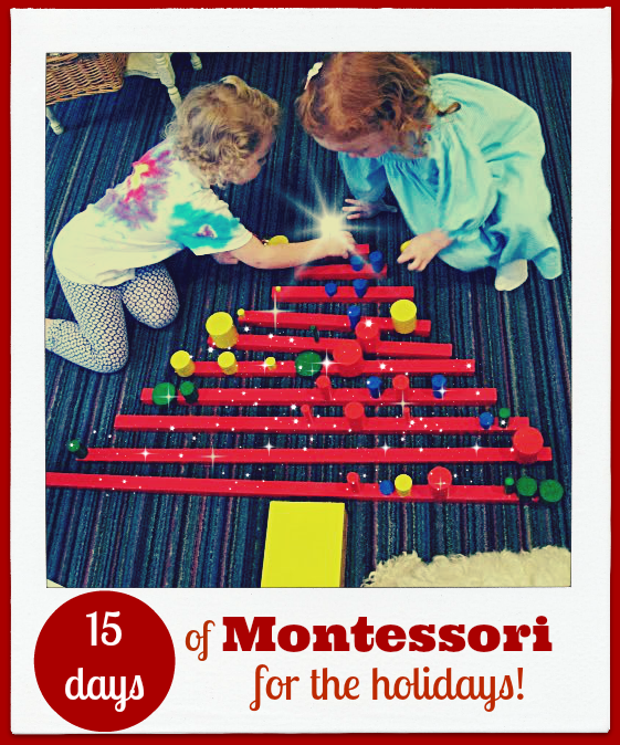 This is a wonderful set of blog post for Montessori for the Holidays!