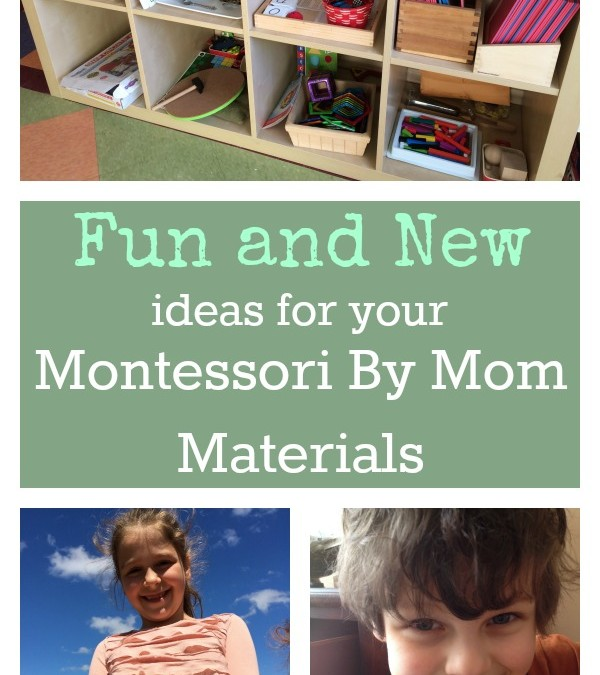 Fun, New Ideas for Your Montessori By Mom Materials