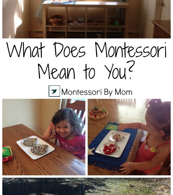 What Does Montessori Mean to You?