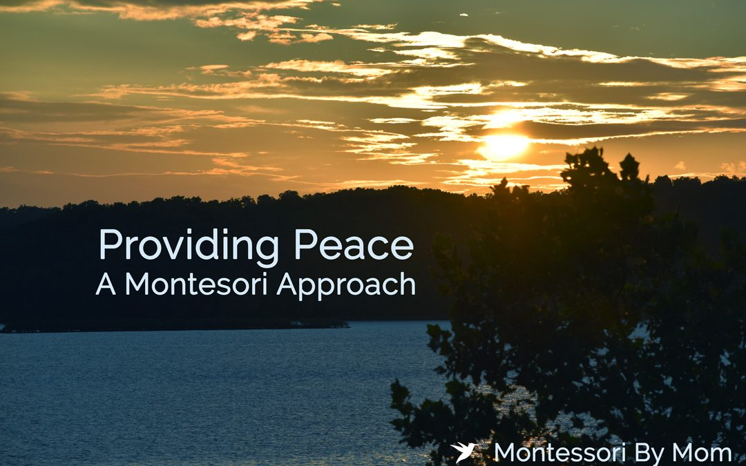 Providing Peace, a Montessori Approach